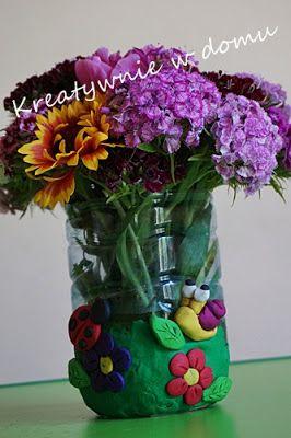 Wazon na kwiaty DIY | Kreatywnie w domu