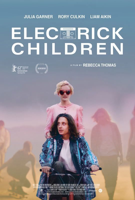 Electrick Children. Fantastic movie about a Mormon girl from Utah who believes she has been immaculately impregnated after listening to rock song on a cassette tape. She travels to Las Vegas to find the man who sings the song and is the father of her child.