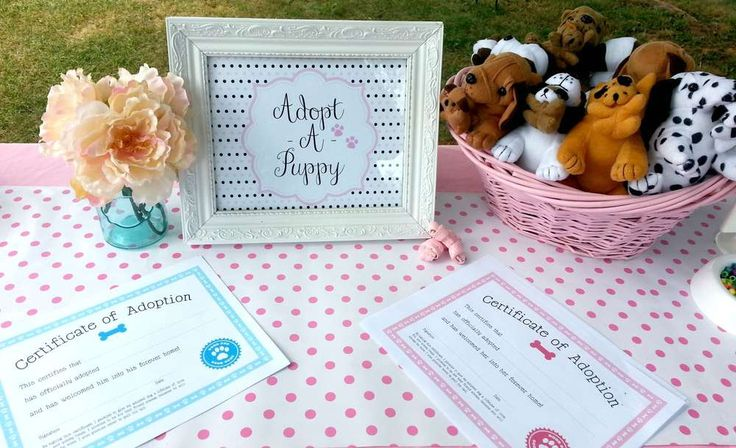 Puppy Party Birthday Party Ideas | Photo 1 of 14 | Catch My Party