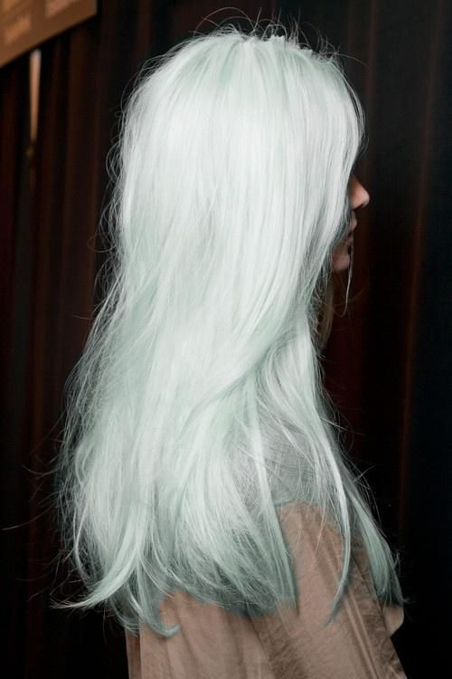 Light Blue Hair | long light blue hair - Hairstyles and Beauty Tips (for your pact with god :p)