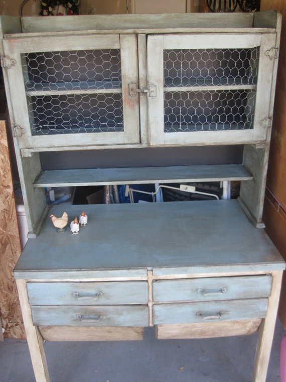 Antique Hand Painted Kitchen Hutch by Shabtiquities on Etsy   375 0023 best Kitchen hutches beach house images on Pinterest   Kitchen  . Kitchen Hutches. Home Design Ideas