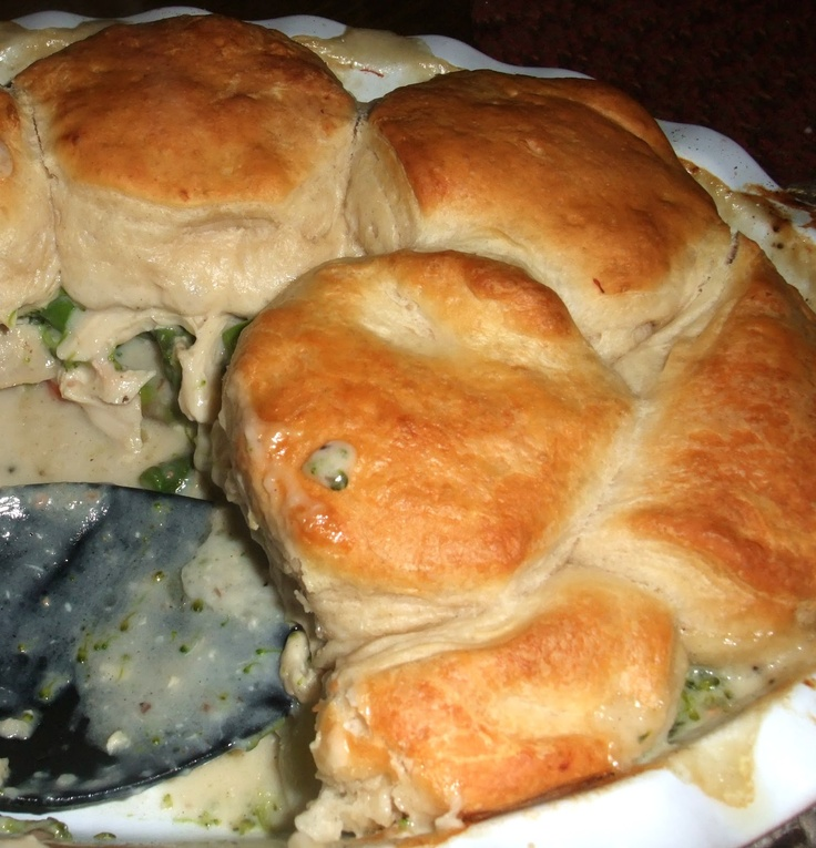 Rosie's Country Baking: Easy Chicken Pot Pie Casserole with Grands Biscuit Topping