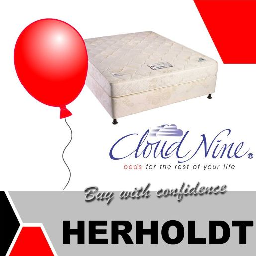 Purchase any Cloud Nine Mattress and base set from the Herholdt Group and you could get up to 15% off simply by popping a balloon. This offer is available from both our store and to anybody that purchases during the promotion period. #promotion #lifestyle #homeimprovement