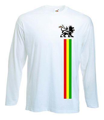 Lion of judah long #sleeve #t-shirt - reggae rasta bob marley #rastafarian,  View more on the LINK: http://www.zeppy.io/product/gb/2/361836380467/