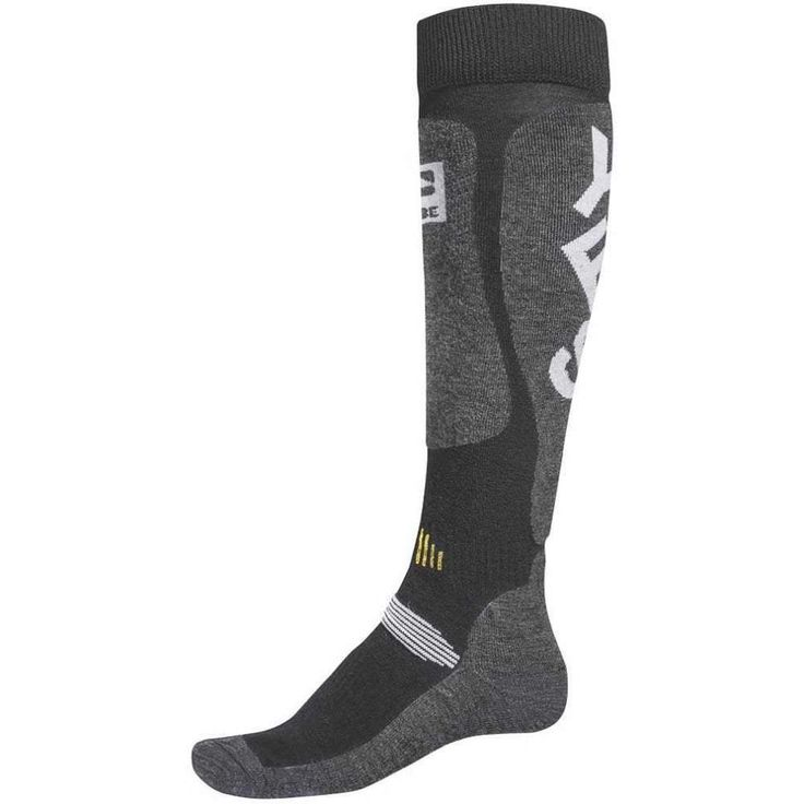 Globe x YES. Cortina Snow Socks in Charcoal