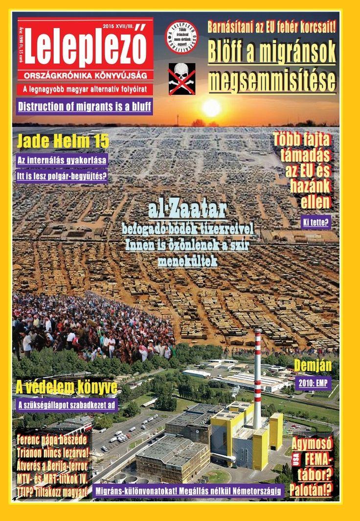 Lelepező 2015. 3., szeptember közepi számának borítója - Tartalomjegyzék: http://scribd.com/leleplezo