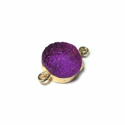 New geodes charm connector for makrame  New collection of jewelry materials fw 2015
