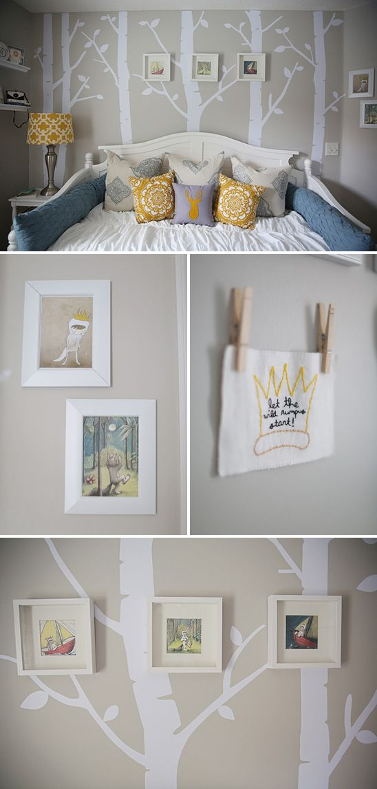 Wish I would have seen this when Max was a nugget.  Where the Wild Things Are Themed Nursery