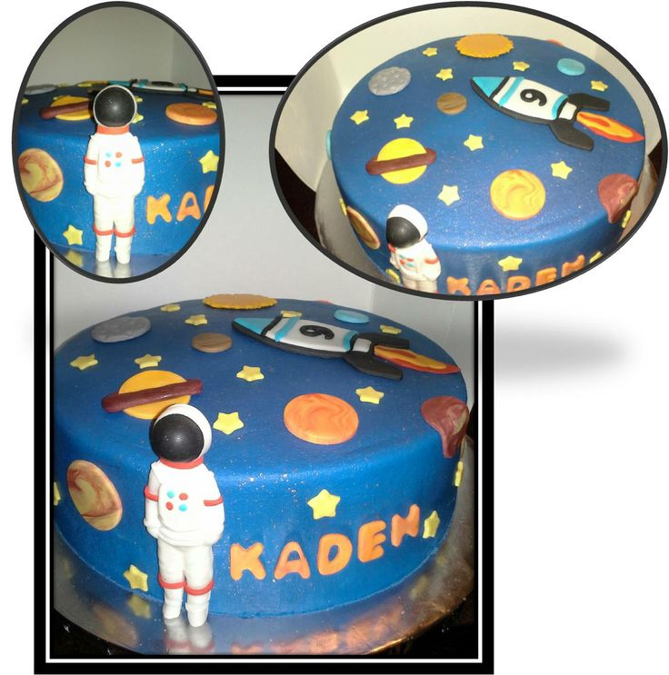 17 best images about birthday on pinterest astronauts for Outer space cake design