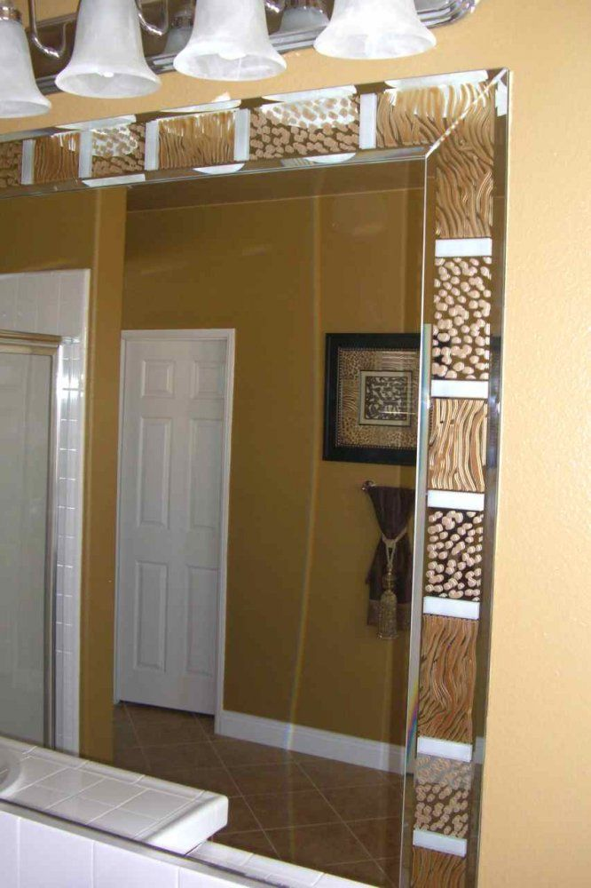 Bathroom Mirror Decorative Trim 44 best custom mirrors images on pinterest | custom mirrors