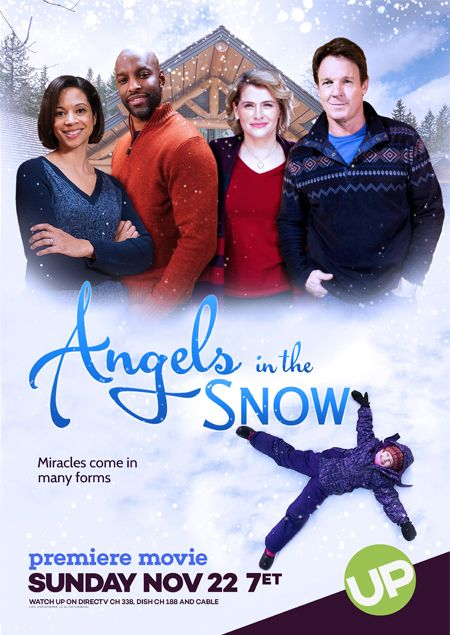 Its a Wonderful Movie - Your Guide to Family Movies on TV: 'Angels in the Snow' an UP Christmas Movie starring Kristy Swanson and Chris Potter