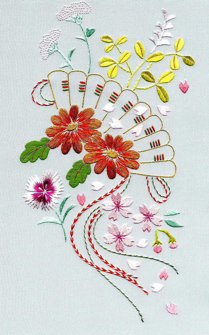 Japanese embroidery Japaneseembroidery   Embroidery patterns ...