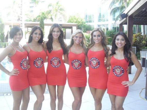 Florida Panthers Ice Girls