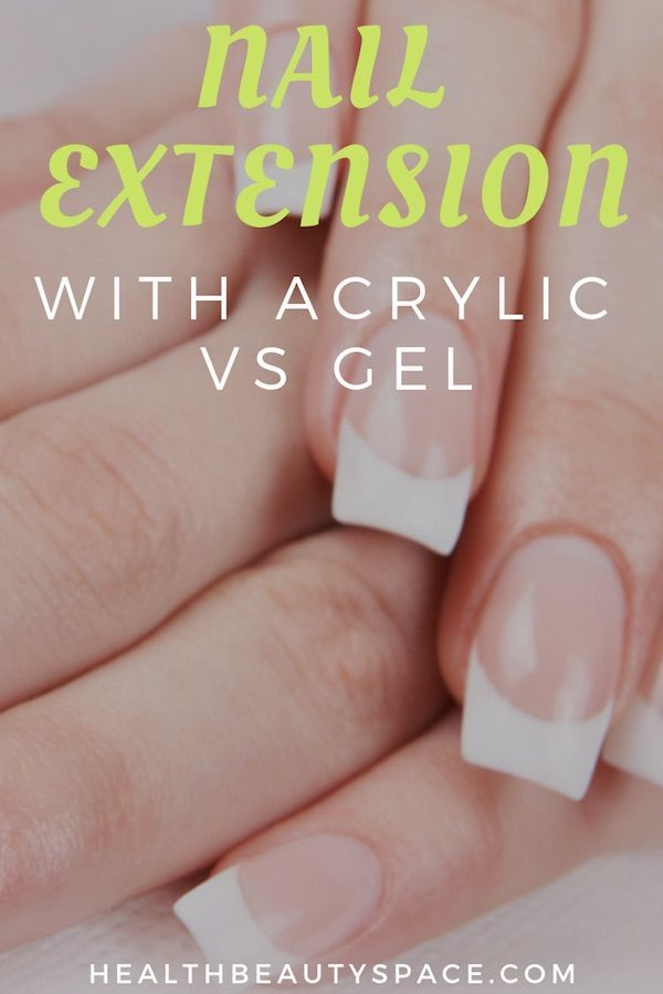 Discover Which Nail Extension Is Best For You If Acrylic Or Gel Wedding Acrylic Nails Nail Extensions Nail Designs