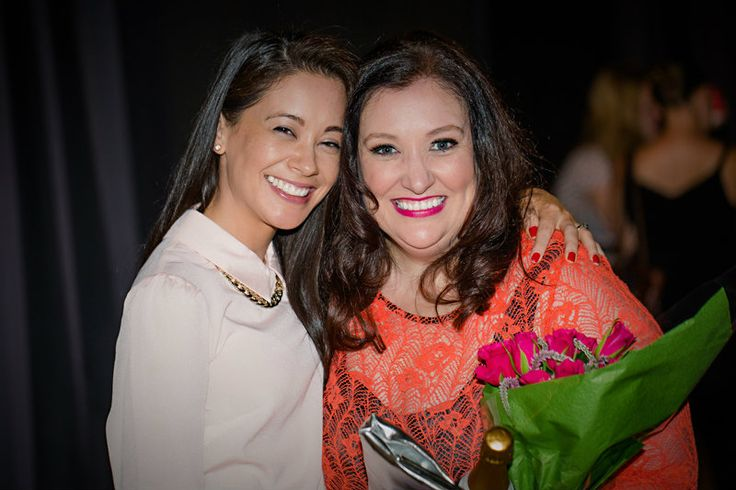 Jade McKenzie with Julie Parker from Beautiful You.