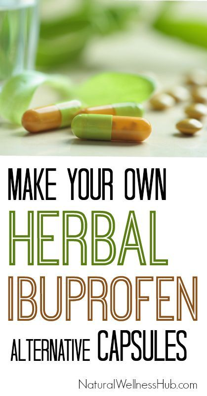 How to Make an Herbal Ibuprofen