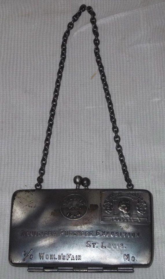 Antique 1904 St Louis Worldu0027s Fair Silver