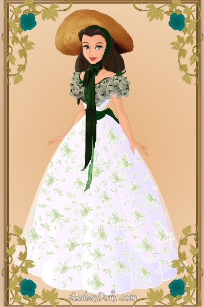 Scarlett O'hara Barbeque Dress by menolikee.deviantart.com on @DeviantArt