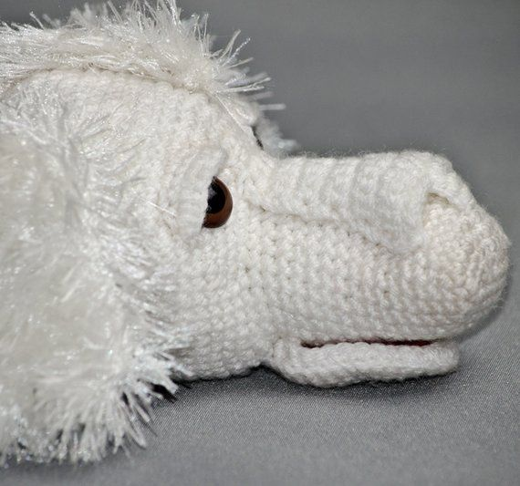 Amigurumi Crochet Pattern For Falkor Inspired Luck Dragon