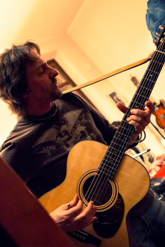 Bob: acoustic guitar