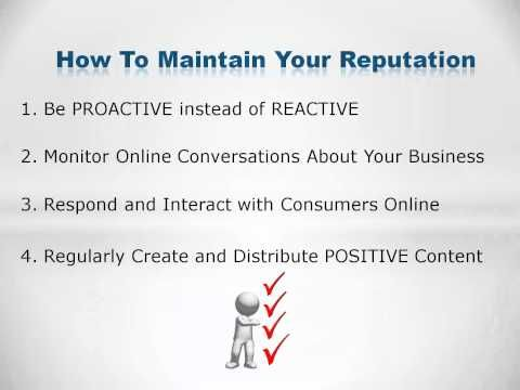 How to maintain your online reputation? Just follow the steps above.