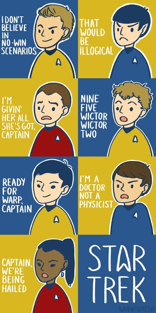 Seven Classic Star Trek Quotes | 8-Bit Nerds