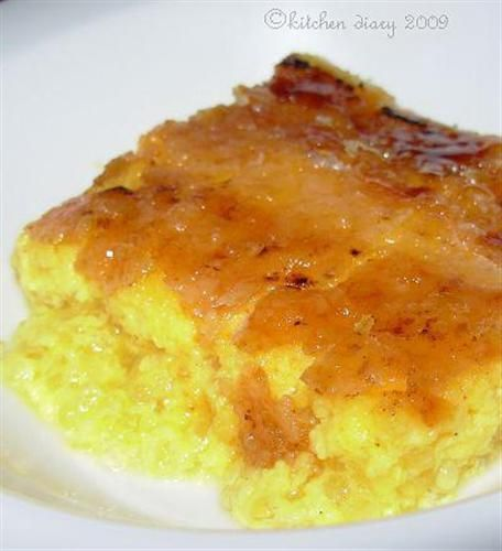 Moo's Baked Sago Pudding recipe