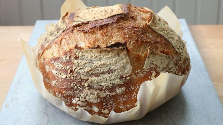 How to make sourdough bread using homemade yeast starter - Calgary - CBC News