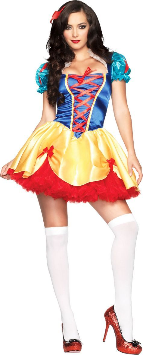 Sexy Snow White Costume for Women - Party City Wow! I luv Halloween costumes!