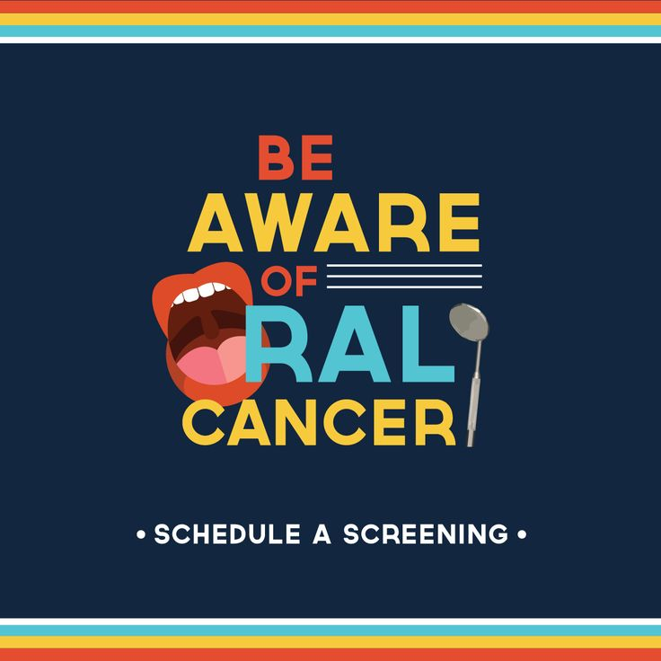 Did you know: 109 people are diagnosed with oral cancer every day in the U.S. #oralcancer #getscreened