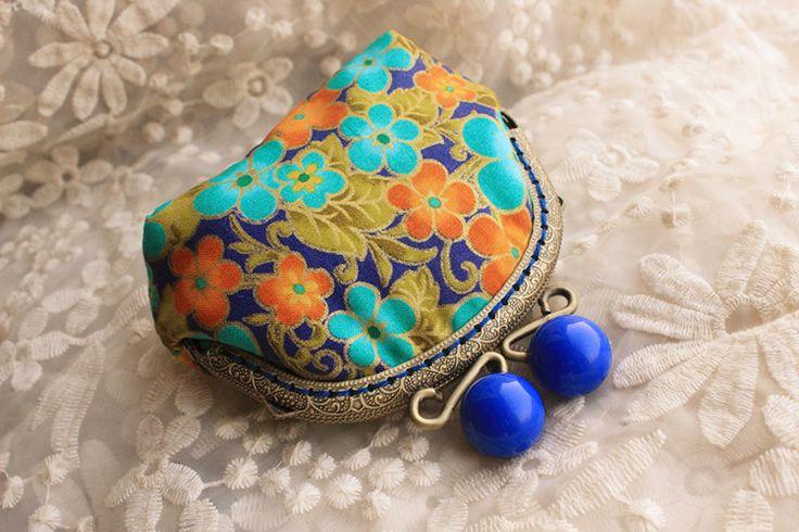 15 Diy ручной тканевый материал мини лоскутное рот золото пакет рукоделие кошельки для монет чехол кошельки подарок сумки , сумки купить на AliExpress