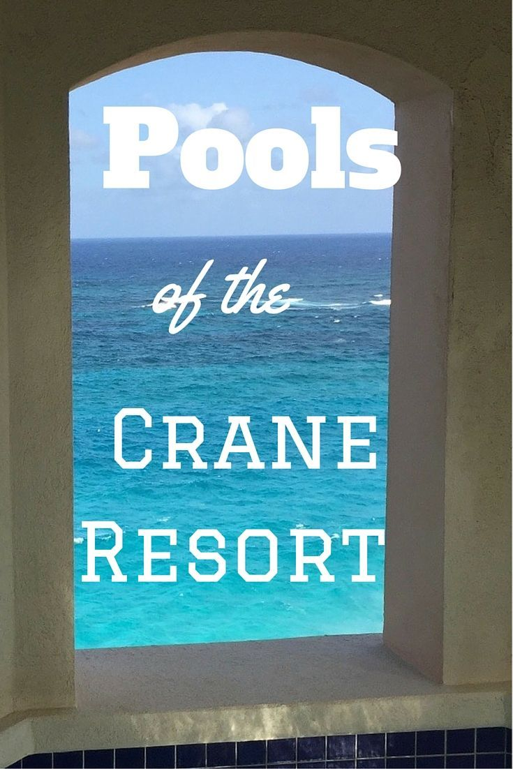 The Crane Resort in Barbados has 5 public pools and 70% of its guest rooms have private pools. These photos will convince you to visit this luxury resort.