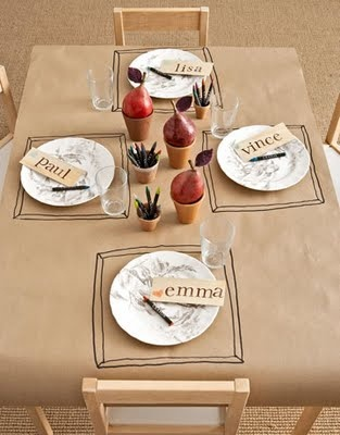 Cute for  when friends come over, put writing and drawings in scrapbook