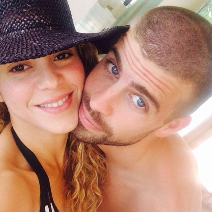 Las fotos más divertidas de Shakira y Gerard Piqué en las redes