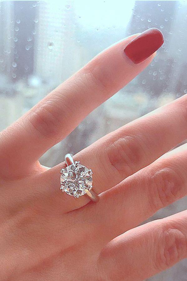 Platino Diamante Corte Princesa 2 CT Royale Cojín anillo de compromiso novia