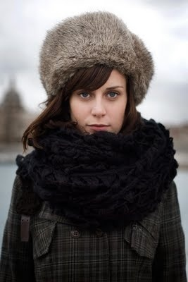 fur hat. | The Style Skinny