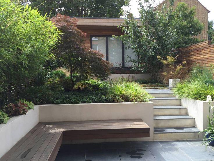 Urban Retreat : Modern garden by Cultivate Design