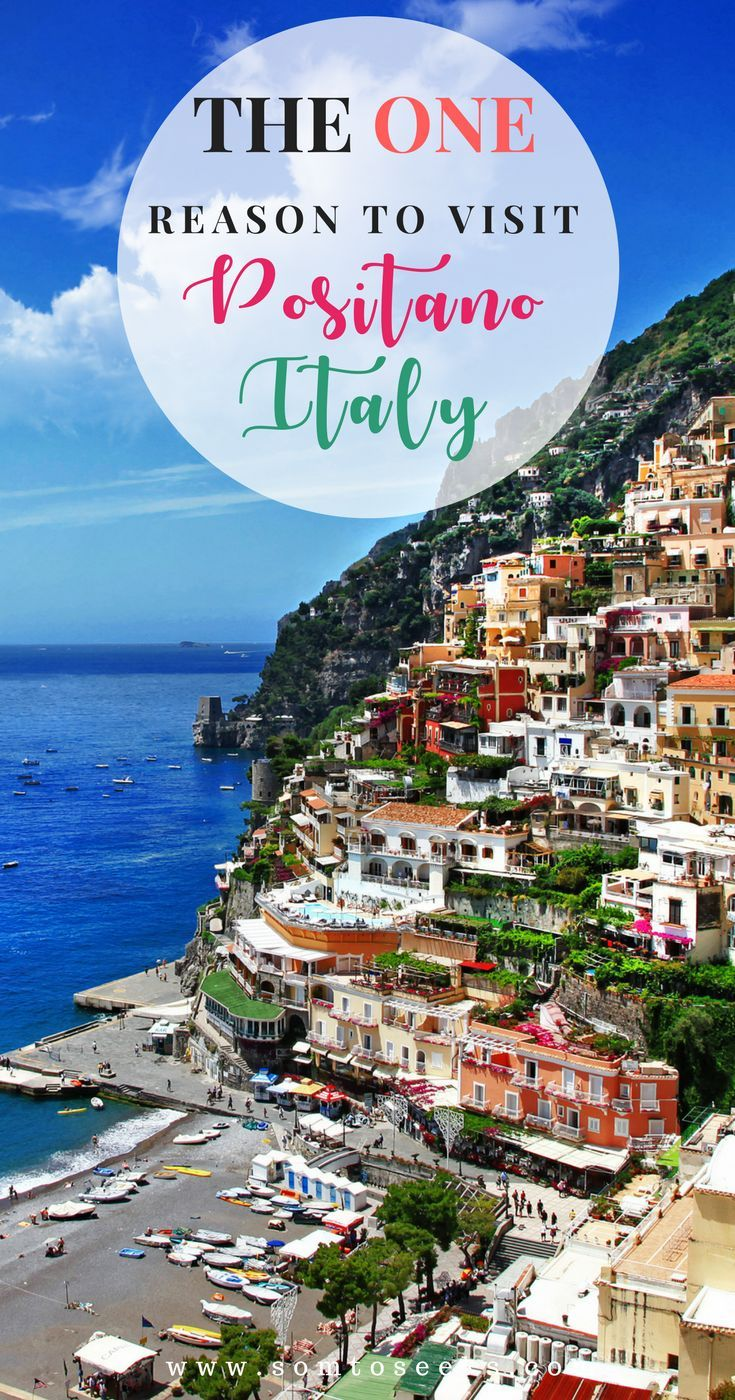 Nestled On The Amalfi Coast In Italy Positano Looks Like A Dream Find Out Why This Picturesque Italian Town Should Be On Your Italy Travel Amalfi Coast Italy