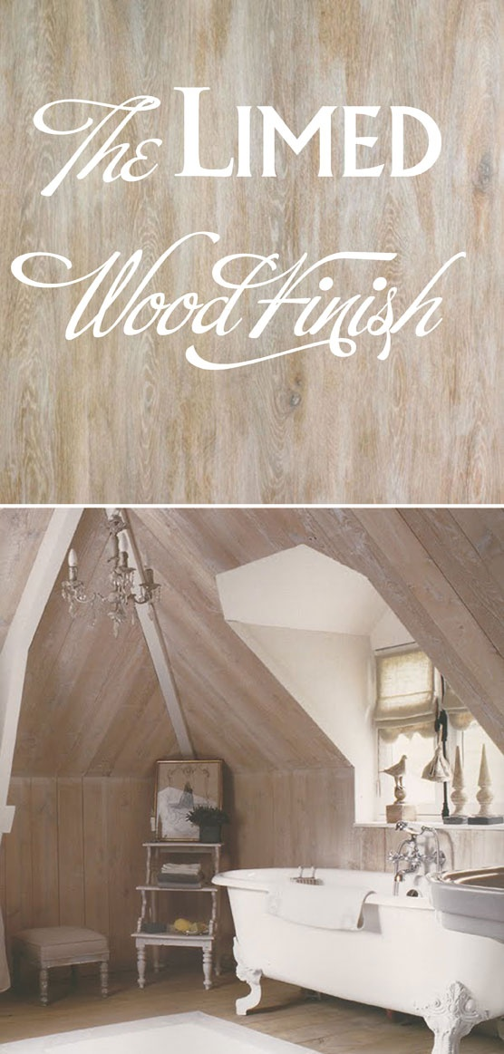 Good How To Get The Whitewashed Look Of Limed Wood Amazing Pictures