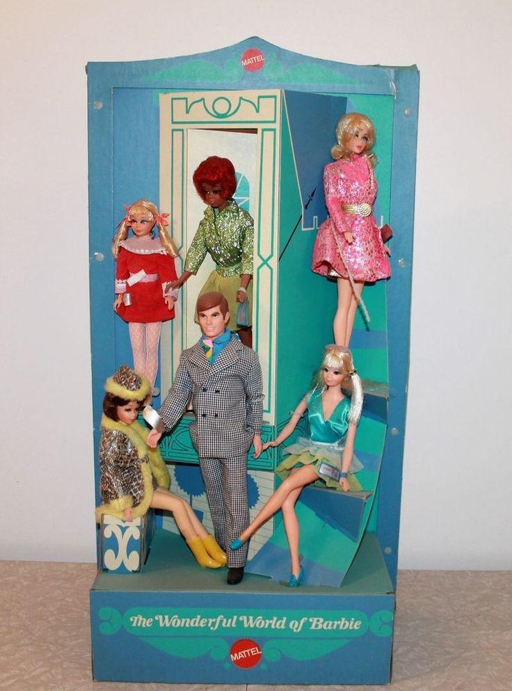 RARE FIND!! Vintage 1970 Mattel Barbie Toy Store Counter Top Display #MidCentury Dolls #Dollshopsunited
