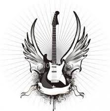 guitar tattoo designs ile ilgili görsel sonucu