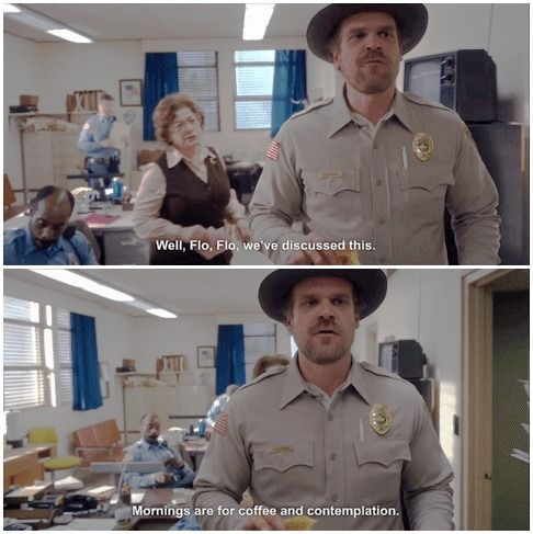 stranger things || favorite quotes → chapter one: the vanishing of will byers #1x01 #jim hopper