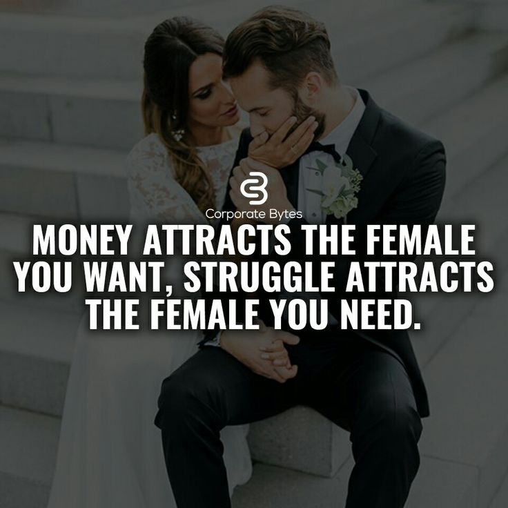 BULL SHIT!!! If she or he is attracted to the money get rid of their ass! . Not surprised at all!!! We all like money but this is sick shit!