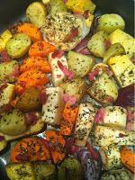 Carry's Kitchen: Recept: Ovenaardappels met wintergroenten