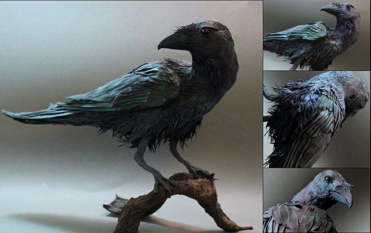 Crow by *creaturesfromel on deviantART