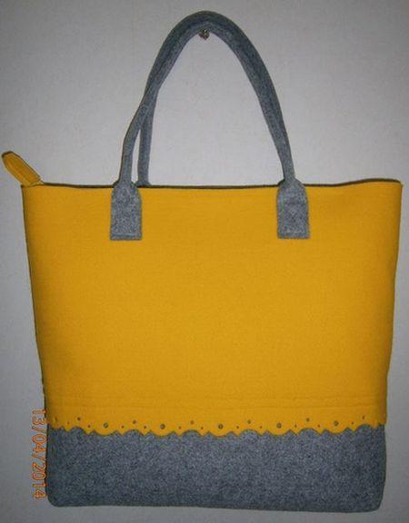 żółto - szara