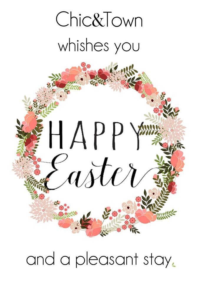 Chic&Town wishes you a Happy Easter and a pleasant stay!  Chic&Town augura una felice Pasqua ed un felice soggiorno!