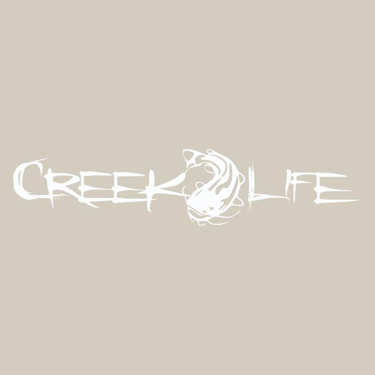 Creek Life Catfish Decal Various Colors Decals