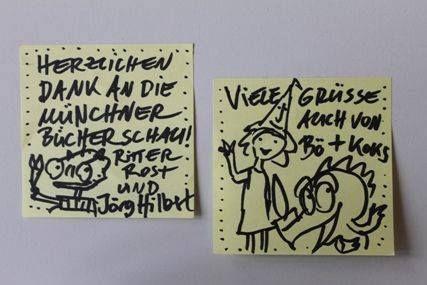 #denkzettel von Jörg Hilbert #litmuc13 #mbs