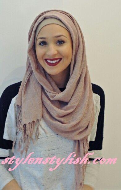 Loose fitting hijab